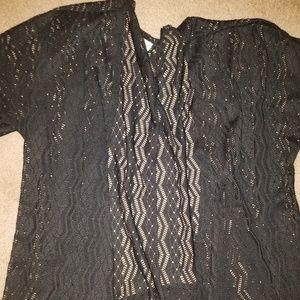 Lularoe large black lindsay